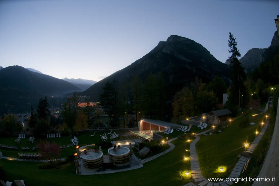 a visit to bormio terme will treat you with lovely moments in an oasis of wellness